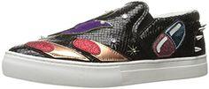 Marc  Jacobs  womens  mercer  in  flight  skate  fashion  sneaker  black multi