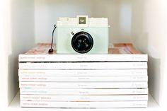 Deluxemodern Design Studio--Diana camera, Martha Magazines. They look good together, no?