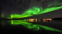 northern lights yellowknife do these really exist #northernlights #yellowknife
