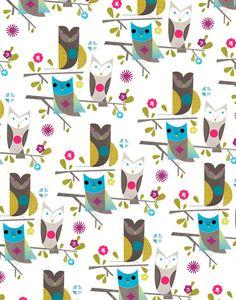 (is it time for an owls board?) Owls - pattern by Dante Terzigni