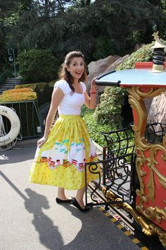 Sometimes you just have to dress up like a Disneyland attraction. I adore the Mary Blair line from pinupgirlclothing.com. Great for Dapper Day or any park visit! Dapper Day Disneyland, Mary Blair, Disney Inspired Outfits, Disney Bound, Attraction, Lace Skirt, Dress Up, Costumes, Park