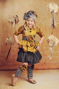 Oh my dear goodness.  This site has THE cutest clothes for little girls! ruby-riffic