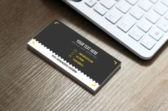 7 clean free business card mockup download thomsoon free business card on behance reheart Images