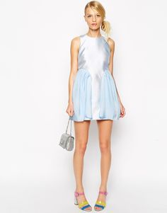 baby blue + tulle