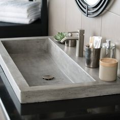 A masterful blend of contemporary artistry and innovation with rustic sensibilities characterizes the groundbreaking collection of kitchen, bar and prep, and bathroom sinks. Handmade by artisans using a sustainable blend of natural materials, these eco-friendly sinks are exceptional in their lighter weight, one-of-a-kind coloration, and extraordinary stain, scratch, and crack resistance.