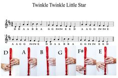 Easy Recorder Music Sheets for Kids (with Pictures) | eHow