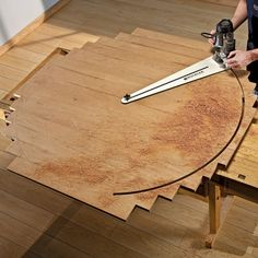 """Cut flawless circles from 10"""" to 52"""" in diameter without complicated math equations. The Rockler Circle Cutting Jig sets up in minutes and mounts quickly to many popular routers made by Porter Cable, Makita, Hitachi, DeWalt, and Bosch."""