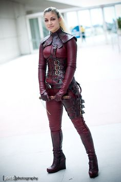 Mord Sith from Legend of the Seeker.