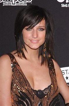 Bing : Medium Long Hair Cuts... Want these bangs... The hair cut is too short for me