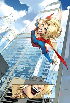 DC Comics has announced Adventures of Supergirl, a Digital First comic set in the Supergirl TV series continuity, by Sterling Gates and a rotating team of artists.