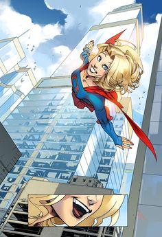 DC annonce une série Supergirl digital-first avec Bengal aux dessins | COMICSBLOG.fr