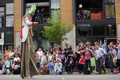 A scene from the 2012 Fremont Solstice Parade! More photos: http://bit.ly/KHD5oY.