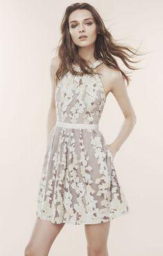 f5028e19315b Cailyn Burnout Floral Print Dress Abiti Da Damigella