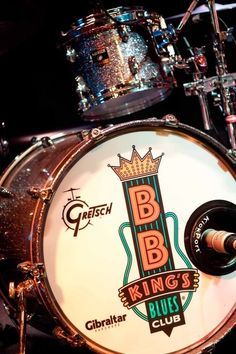 Drums are just one part of the amazing 8 piece BB King Blues Club Band! #BBKing #Eurodam