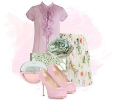 """Pinku"" by weeyz ❤ liked on Polyvore"