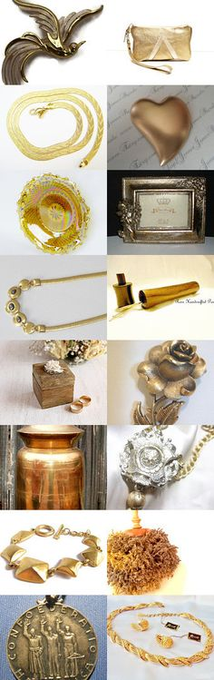 LIFE IS GOLDEN - A gratitude treasury by Christine Behrens on Etsy--Pinned with TreasuryPin.com