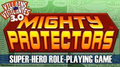 Villains and Vigilantes 3.0 Up On Kickstarter…