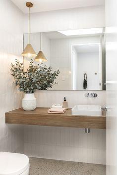 Small Bathroom Renovations, Bathrooms, Brighton Houses, Pink Bedroom Decor, 2 Storey House Design, New Home Builders, Bathroom Inspiration, Bathroom Inspo, Pool Houses