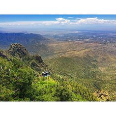 """Green New Mexico! {Sandia Tram Albuquerque NM USA} #sidetrackedapp #newmexico #nm #southwest #newmexicotourism #travelnm #nmtravel #desert #santafe #albuquerque #visitabq #travel #travelapps #hiking #roadtrips #sidetracks #southwest #americansouthwest #landofenchantment #rockies #rockymountains #USA #sandias #sandiapeak #sandiacrest #sandiatram"" Photo taken by @getsidetracked on Instagram, pinned via the InstaPin iOS App! http://www.instapinapp.com (07/09/2015)"