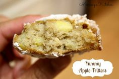 Mommy's Kitchen: Yummy Apple Fritters {Another Fall Recipe}