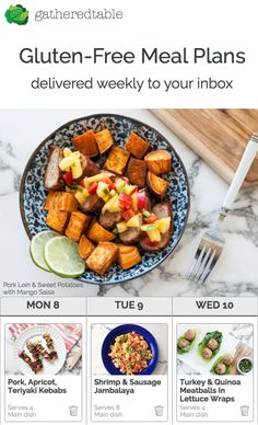 Sick of deciding what to make for dinner? Let us help! Join now and receive a custom menu and grocery list delivered weekly to your inbox: gluten-free, paleo, vegan and more.