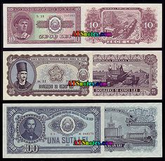 Romania banknotes, Romania paper money catalog and Romanian currency history Money Worksheets, Romania, Catalog, Paper, Happy