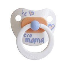 Chupete Bibi Te Quiero Mamá 0-12 meses Pastel