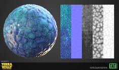 ArtStation - Terra Willy Materials, Youssef Lakssir Im Happy, Presents, Texture, Artwork, I Am Happy, Gifts, Surface Finish, Work Of Art, I'm Happy