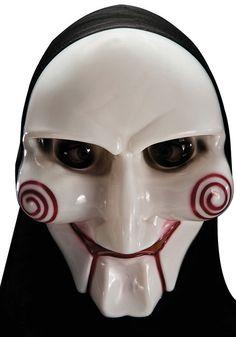 Ideales Zubehör, für alle die nicht nur an Halloween, sondern auch an Karneval oder einer Kostümparty als schauriger Mörder oder gruseliger Geist gehen möchten. Gänsehaut mit dieser Mördermaske garantiert!