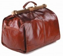 Pierre Cardin Leather Gladstone Bag