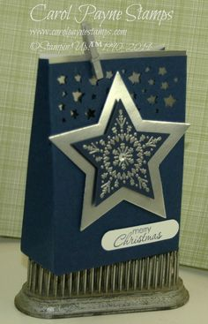 Stampin' Up!,Many Merry Stars,Stars Framelits,Confetti Stars Punch