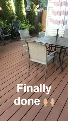 My Deck Makeover by Rachel Bernhardt, Portland Realtor