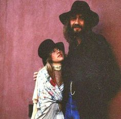 Vintage Stevie Nicks & Mick Fleetwood