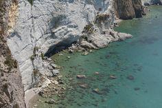 una delle tante calette dell'Isola di Ponza