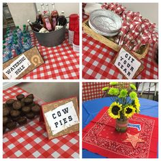 Western themed teacher and staff appreciation lunch