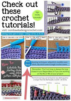free crochet stitch pattern tutorial for beginners in 2014