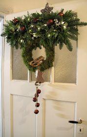 Bloemschikken Rosalie: Bloemschikken Advent en Kerst 2015 - 2. Deurhanger