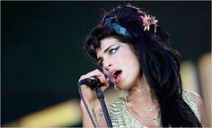 """RIP Amy.  Amy Winehouse performing at the """"Rock in Rio"""" music festival in Arganda del Rey, near Madrid, on July 4, 2008. Juan Medina/Reuters  She had such a great talent, and beauty, too."""