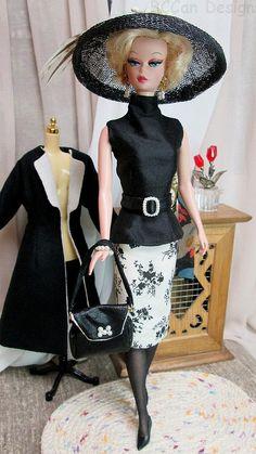 220 BCCan Designs Black White Coat for Silkstone 2