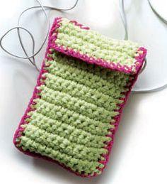 Crochet Bag Pattern: Handy Utility Cases
