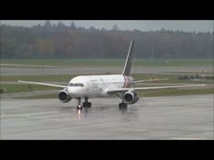 (With live ATC) Titan Airways Boeing 757 at ZRH Plane, Aviation, Aircraft, Youtube, Airplane, Air Ride, Planes, Airplanes