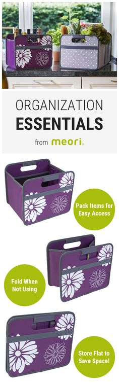 Organize with durable, foldable boxes: meori boxes fit all your home organization needs. Receive 15% off your purchase & free shipping on orders $50+. Use code: WELCOME15 (Exp. 2/28/17)