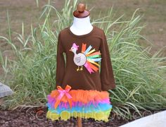 Turkey Tutu Dress I so would have made this for my girlies...19&23 now, probably inappropriate