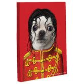 Empire Art Direct Pets Rock Pop Graphic Wrapped Dog Canvas Wall Art, x x Ready to Hang Michael Jackson, Metal Wall Art, Canvas Wall Art, Poster Prints, Art Prints, Posters, Pet Rocks, Rock Art, Find Art