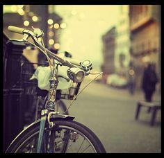 Vintage bikes for summer Sunday meandering around Paris.