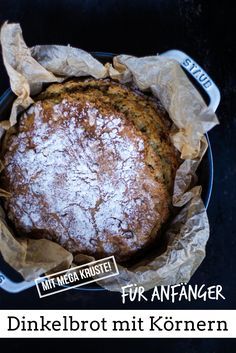 Dinkelbrot mit Körnern Simple spelled bread, also suitable for beginners. Among other things, I'll s Healthy Recipes For Diabetics, Healthy Meals For One, Healthy Recipe Videos, Healthy Crockpot Recipes, Healthy Eating Recipes, Healthy Breakfast Recipes, Diabetic Recipes, Snack Recipes, Easy Meals