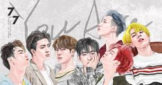 Got7 Fanart, Kpop Fanart, I Got 7, Mark Tuan, Dragon Ball, Kawaii, Fan Art, Cartoon, Bird