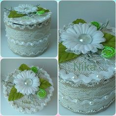 ТОПИАРИИ СВОИМИ РУКАМИ Ribbon Box, Diy Ribbon, Home Crafts, Diy And Crafts, Ribbon Projects, Kanzashi Flowers, Home And Deco, Hobbies And Crafts, Jewelry Box