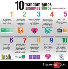Los 10 mandamientos para #lectores.