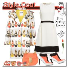 """""""Style Coat"""" by joyce-williams ❤ liked on Polyvore featuring H&M, Moschino, Michael Kors, Kenzo, Chloé, CÉLINE, Yves Saint Laurent, Oliver Gal Artist Co. and Christian Lacroix"""